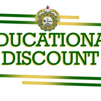 USJR discount scholarship