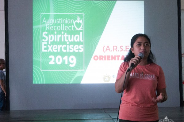 The Campus Ministry Office had an orientation about ARSE on how to use the online booking system  on July 13, 2019 at the USJR Main lobby.